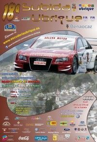 Cartel Subida Ubrique 2013