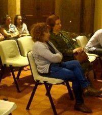 María Isabel Fernández en la sesión plenaria del mes de abril