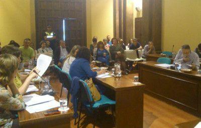 Salón de Plenos del Ayuntamiento de Ubrique
