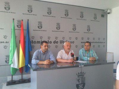 Presentación del convenio Ayuntamiento de Ubrique-Fankinet