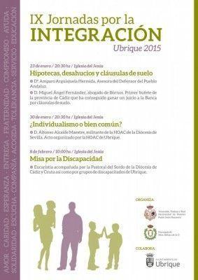 Cartel IX Jornadas por la Integración