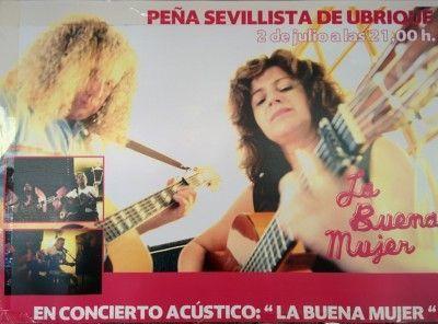 La Buena Mujer en concierto