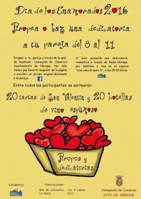 cartel dia de los enamorados