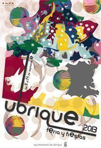 Cartel de la Feria de Ubrique 2013