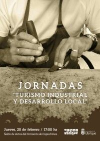 Cartel Jornadas Turismo Industrial y Desarrollo Local (1)