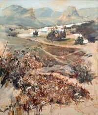 Obra de Pedro Lobato. Pintores de Ubrique