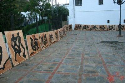 Rodríguez Agüera inaugura hoy nueva exposición. Foto: Pintores de Ubrique