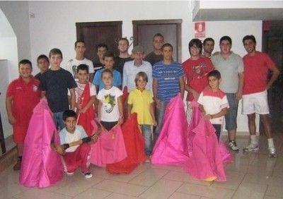 Alumnos de la Escuela Comarcal Taurina de Ubrique