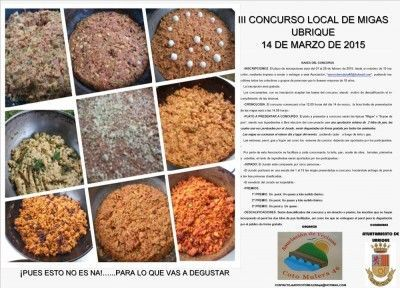 Concurso Local de Migas