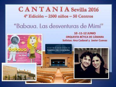 Anuncio CANTANIA Sevilla 2016